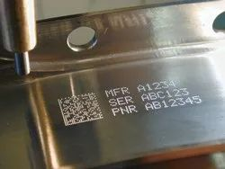 Laser Number Marking Machine