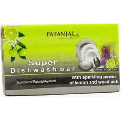Patanjali 250 GM Super Dish Wash Bar, Packaging Type: Box