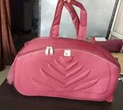 1 Pcs. Coated Fabric Travel Bag With Wheels