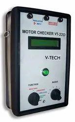 Analog Electric Motor Checker