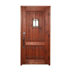 Termite Free Wooden Safety Door, For Home, Size: 81x32 Inch