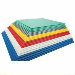 Coloured PP Flute Sheets