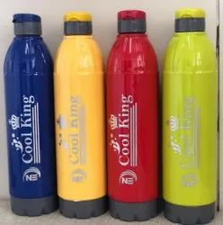 NE Plastic Cool King Insulated Water Bottle, Capacity: 1 L