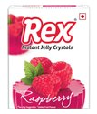Red Rex Raspberry Jelly Crystals, Packaging Type: Packet, Packaging Size: 85g
