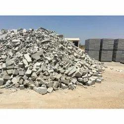 Cement Solid AAC Broken Blocks, For Side Walls