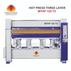 Three Layer Hot Press Machine, Model Name/Number: Mthp 120 T3