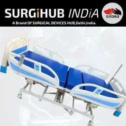 Electric Beds Surgihub Five Functional Electrical ICU Bed, Size/Dimension: 2150x900x500 Mm, For Hospital,Clinic And Etc