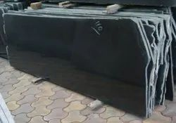 South India Z Black Granite Slabs, For Countertops, Thickness: 15-20 mm