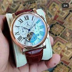 Analog Men Cartier Watch, For Formal