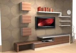 Sufiyan Furniture Brown Plywood TV Unit, For Home,Hotel