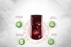 4 Star Ruby Glow LG GL-D190ARGY Single Door Refrigerator, Model Name/Number: D191ARGY, Capacity: 190L