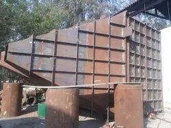 Mild Steel MS Industrial Ducting Work
