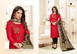 Cotton Stitched Salwar Suit