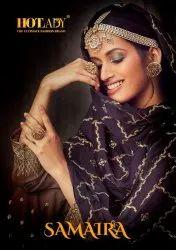Hotlady Samaira 6161 Series Plazzo Style Heavy Designer Salwar Kameez Catalog