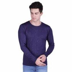 Mens Printed Lycra T Shirt