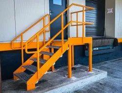 Mild Steel Stairs Stair Walkway Handrails