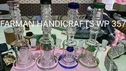 SHAWAR RIM GLASS WATER SMOKING PIPES