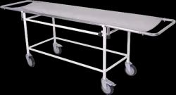 STRETCHER ON TROLLEY SS TOP - 50-7100 C