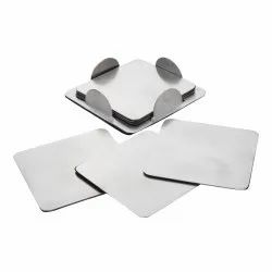 Stainless Steel Square Coasters