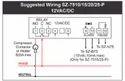 SZ-7510P On-Off Temperature Controller