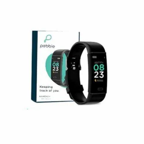 Branded Pebble Fitness Tracker
