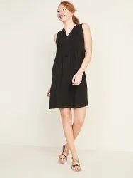 Surplus Ladies Black A Line Dress
