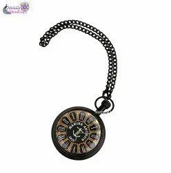 Nirmala Handicrafts Antique Brass Pocket Watch And Gift Item