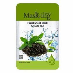 MASKING BEAUTY - GREEN TEA FACIAL SHEET MASK