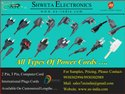 3 Pin Mains Cord 5 Amp Gauge 14/38