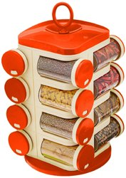 Revolving spice rack set Masala box 12