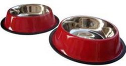 Colour Non Tip Anti Skid Pet Bowl