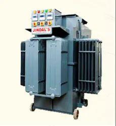 45 Kva Oil Cooled Servo Voltage Stabilizer, 380-440 V, Output Voltage: 415-480 V