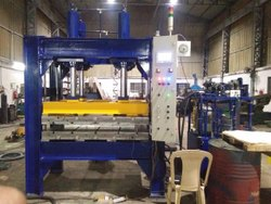 Electric Mild Steel Rubber, Plastic, FRP Molding Machines, Capacity: 50-500 Ton