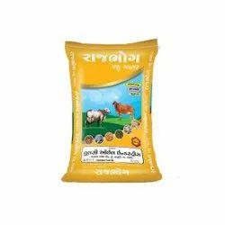 Rajbhog Cattle Feed, Packaging Type: BOPP Digital Bag, Packaging Size: 40 Kg