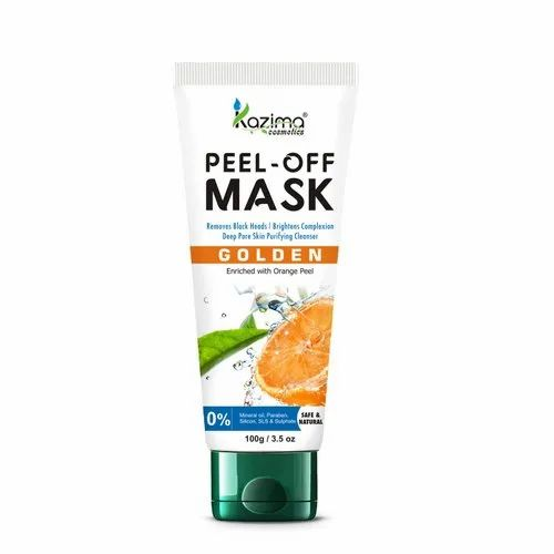 Kazima Peel Off Mask-golden