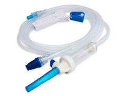 Plastic Disposable Infusion Set, For Hospital, Grade: Medical Grade