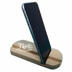 Wooden Mobile Stand- 04