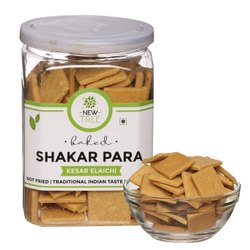 New Tree Baked Shakarpara - Kesar Elaichi