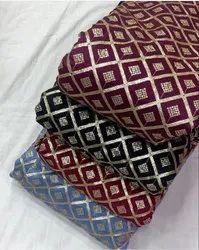 Chinon Allover Embroidered Fabric-Color