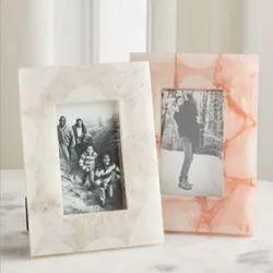 Semi Precious Stone Picture Frames, For Decoration