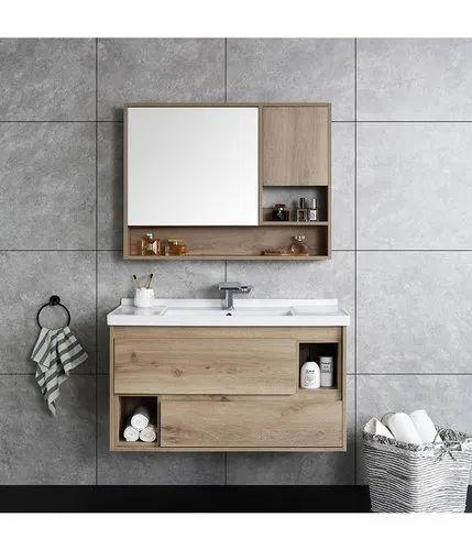 Wooden Vanity Wall Mounted Modern, Modern Bathroom Vanities And Cabinets