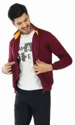 Full Sleeve 80% cotton 20% polyster blend Mens Jackets