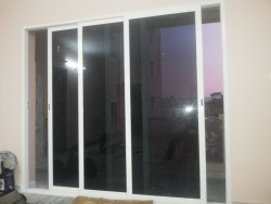 Closet Doors Pristine White Hotel Sliding Glass Door, For Home