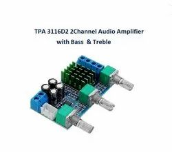 TPA 3116D2 2Channel Audio Amplifier With Bass & Treble