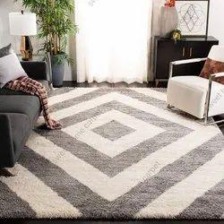 For Bedroom Microfiber Shaggy handmade Carpet