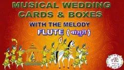 Indian Wedding Cards And Boxes Musical Song And Melody Modules
