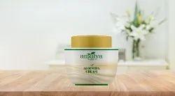 Amulya White Aloe Vera Cream, Plastic Jar, Packaging Size: 100 Gm