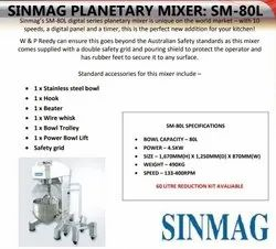 Sinmag Dough Sheeter
