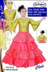 LAL 9512 Kids Lehenga Choli
