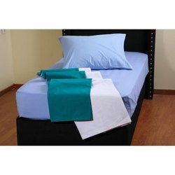 Sky Blue Hospital Bed Sheets
